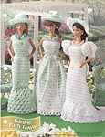 Annie's Fashion Doll Crochet Club: Garden Party Gowns