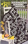 Annie's Attic Crossword Puzzle Afghan