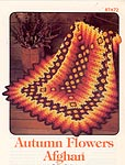 Annie's Attic Autumn Flowers Afghan