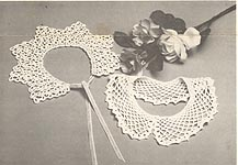 Treasured Heirlooms Crochet Vintage Pattern Shop Collars