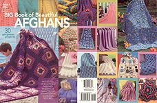AFGHAN VARIEGATIONS 6 Colorful Variegated Patterns Annie/'s Attic Crochet BOOK