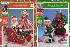 Fibre-Craft Santa & Friends Air Fresheners