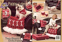 Annie's Attic Crochet 'n' Weave Puppy Love