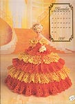 Annies Calendar Bed Doll Society, Cotilliion Collection, Miss November 1992