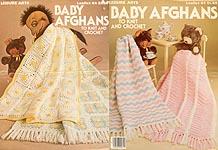 Baby Love 6 Shell Stitch AfghansLeisure Arts 2592