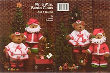 JAO Enterprises Mr. & Mrs. Santa Claus to Knit & Crochet