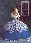 Annies Calendar Bed Doll Society, Collector Series, Miss January 1991.