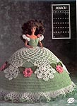 Annies Calendar Bed Doll Society, Collector Series, Miss March 1991.