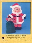 Td creations Crochet Bear Santa