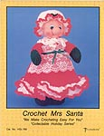 Td creations Crochet Mrs. Santa