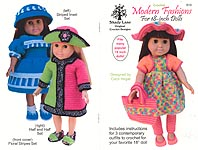 Shady Lane Crochet Modern Fashions for 18- Inch Dolls
