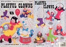 Pat Depke Books/Craft World Playful Clowns