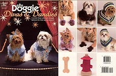 Annie's Attic Crochet Doggie Divas & Dandies