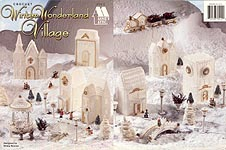Annie's Attic Crochet Winter Wonderland Village