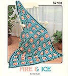 Annie's Attic Fire & Ice afghan