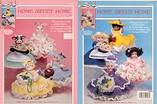 Fibre-Craft Home Sweet Home Air Freshener Dolls