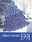The Needlecraft Shop Afghan Calendar 1991