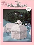 ASN White Christmas Collection: Village Schoolhouse in Thread Crochet