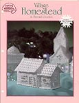 ASN White Christmas Collection: Village Homestead in Thread Crochet