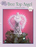 ASN White Christmas Collection: Tree Top Angel in Thread Crochet