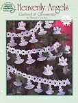 ASN White Christmas Collection: Heavenly Angels Garland & Ornaments in Thread Crochet