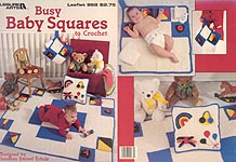 LA Busy Baby Squares to Crochet