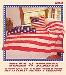 Stars & Stripes Afghan and Pillow