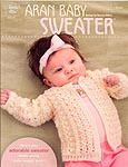 Annie's Attic Crochet Aran Baby Sweater