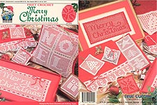 True Colors Filet Crochet Merry Christmas