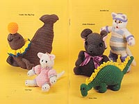 The Pattern Library Playful Friends Crochet