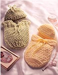 Fireside Favorites Preemie Papoose Sets