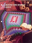 Annie's Crochet Quilt and Afghan Club: Around the World Quilt