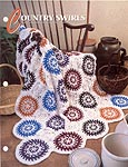 Annie's Crochet Quilt & Afghan Club, Country Swirls