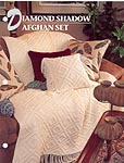 Annie's Crochet Quilt & Afghan Club, Diamond Shadow Afghan Set
