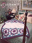 Annie's Crochet Quilt & Afghan Club, Dutch Rose