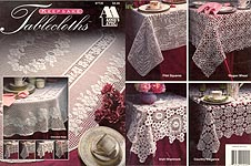 998 Eagle Filet Crochet Doily Afghan Curtain Pattern