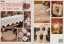 Leisure Arts Tis the Season for Thread Crochet