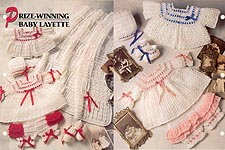 Annie's Crochet Quilt & Afghan Club, Prize- Winning Baby Layette