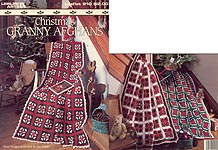Leisure Arts Christmas Granny Afghans