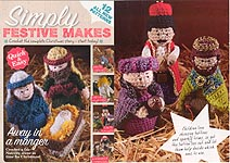 Simply Festive Makes: CROCHET Away in a Manger