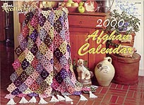 The Needlecraft Shop Afghan Calendar 2000