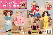Annie's Attic Crochet Fast & Fun Doll Fashions, Volume One