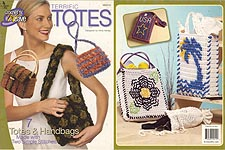 Annie's Attic Crochet 'n' Weave Terrific Totes