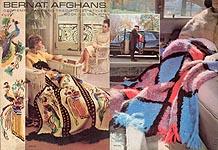 Bernat Afghans, Book No. 132: Contemporary and Traditional Styles