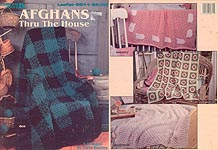 Leisure Arts Afghans Thru the House