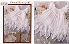 The Crochet Garden Celestial Christening Gown