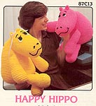Annie's Attic Happy Hippo