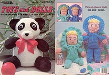 Leisure Arts Toys and Dolls to Knit and Crochet