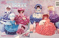 Bride Music Box Doll Fibre Craft Crochet Doll Pattern 13 inch Bed