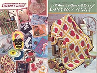 Annie's Quick & Easy Crochet To Go #112, Aug-Sept 1998